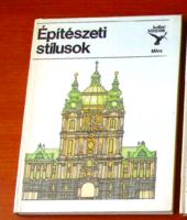 KOLIBRI könyvek - Építészeti stílusok
