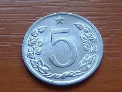 CSEHSZLOVÁKIA 5 HALERU 1975 ALU.