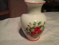 Hollóházi kézi festésű váza