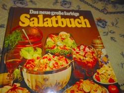 ---Saláták- német nyelvű  szakácskönyv