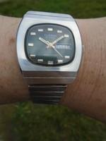 CLINTON SELF WINDING egy nagyon ritka NOS óra Svájcból az 1970-es évekből 25 jevels