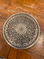 84-es ezüst ékszerdobozka