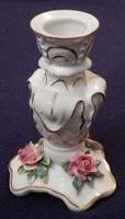 Volkstedter porcelán gyertyatartó