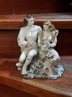 20 cm-es gyönyörű német porcelán, hibátlan,ajándéknak.