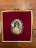 19.századi Miniatűr