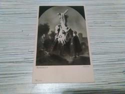 Antik vallási képeslap