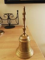 Antik réz asztali csengő