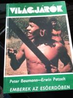 2 könyv : Emberek az esőerdőben, A Brendan - expedíció - VILÁGJÁRÓK könyv sorozat 136. és 141.rész