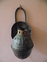 Retro cizellált vas fali lámpatest (KV)
