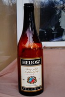 Óriás méretű üveg palack Sherry jellegű borkülönlegesség felirattal