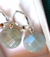 LABRADORIT ásvány fülbevaló