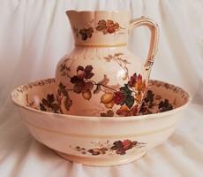 Villeroy & Boch gyönyörű mosdószett (halvány pink színű)