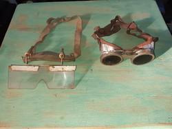 2 db retro védőszemüveg