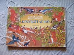 Kányádi  Sándor Kinyílott az idő leporelló mesekönyv 1990