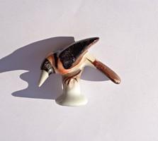 Herendi porcelán, apró madár