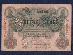 Német 50 márka 1910 / id 5589/