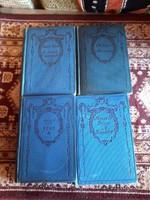 Század eleji regények 4 db  könyv