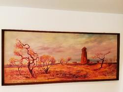 Tóth Sándor festmény, 1060mmx2440mm