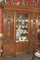 Antik dolgozószoba bútor,íróasztallal!