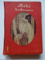Henny Koch: Bébi kedvence - antik ifjúsági regény, a Nova Irodalmi Intézet kiadása, 1926