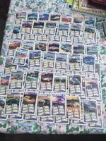66 db autós kártya