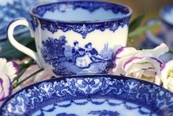 Royal Doulton Watteau csésze + csészealátét II.