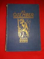 Antik 1926 Lambrecht  Kálmán : Az Ősvilágok Élete Az Ősember