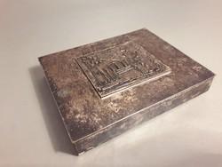 Különleges Kopcsányi Ottó - AIDA - Szegedi Ünnepi Játékok ezüstözött díszdoboz - doboz