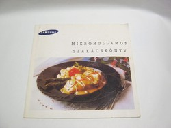 Mikrohullámon szakácskönyv