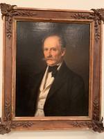 Barabás Miklós (1810-18989): Semsey Albert portréja, 1854