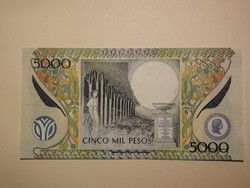 Kolumbia 5000 Pesos UNC 2013