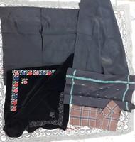 Hímzett vegyes népviseleti kendő csomag (5 db) - népi paraszti fejkendők fejkendő