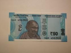 India 50 Rupia UNC 2017