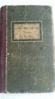 Lakbérkönyv 1927 eladó!