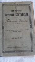 Elemi Népiskolai Értesítő könyvecske 1913 eladó!