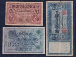 3 db német márka / id 5928/