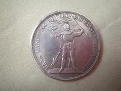 5 Frank 1869, Bern  Svájci emlékérem ezüst