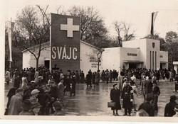 MAGYAR Budpesti Nemzetközi Vásár BNV 1941 Svájci pavilon RK