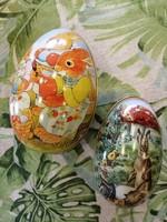 Fém húsvéti tojások