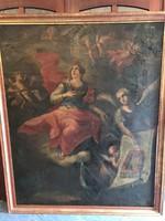 Barokk Antik Festmény