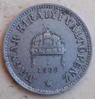 10 Fillér 1909. /pm/