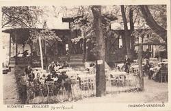 Zugliget BP. Disznófő vendéglő 1926