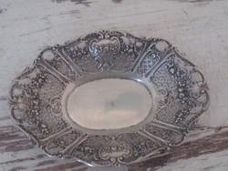 Antik ezüst tál