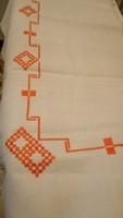 Szöttes,szövött vászon  ágy terítő 180*156* cm