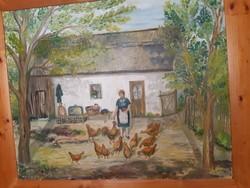 Naív festmény
