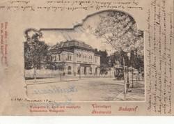 Wampetics F állatkerti vendéglője Városliget BP. 1901