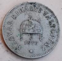 10 Fillér 1916./pm/