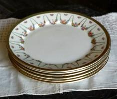 Francia fajanszporcelán tányérok  XIX. sz-ból