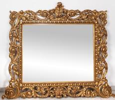Extra nagyméretű barokk stílusú tükör