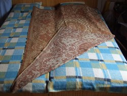 Antik szövött ágyterítő